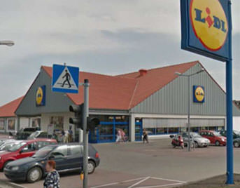 Supermarket in Jawiszkowice
